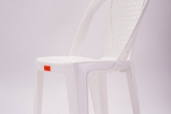 19-Armless chair - White